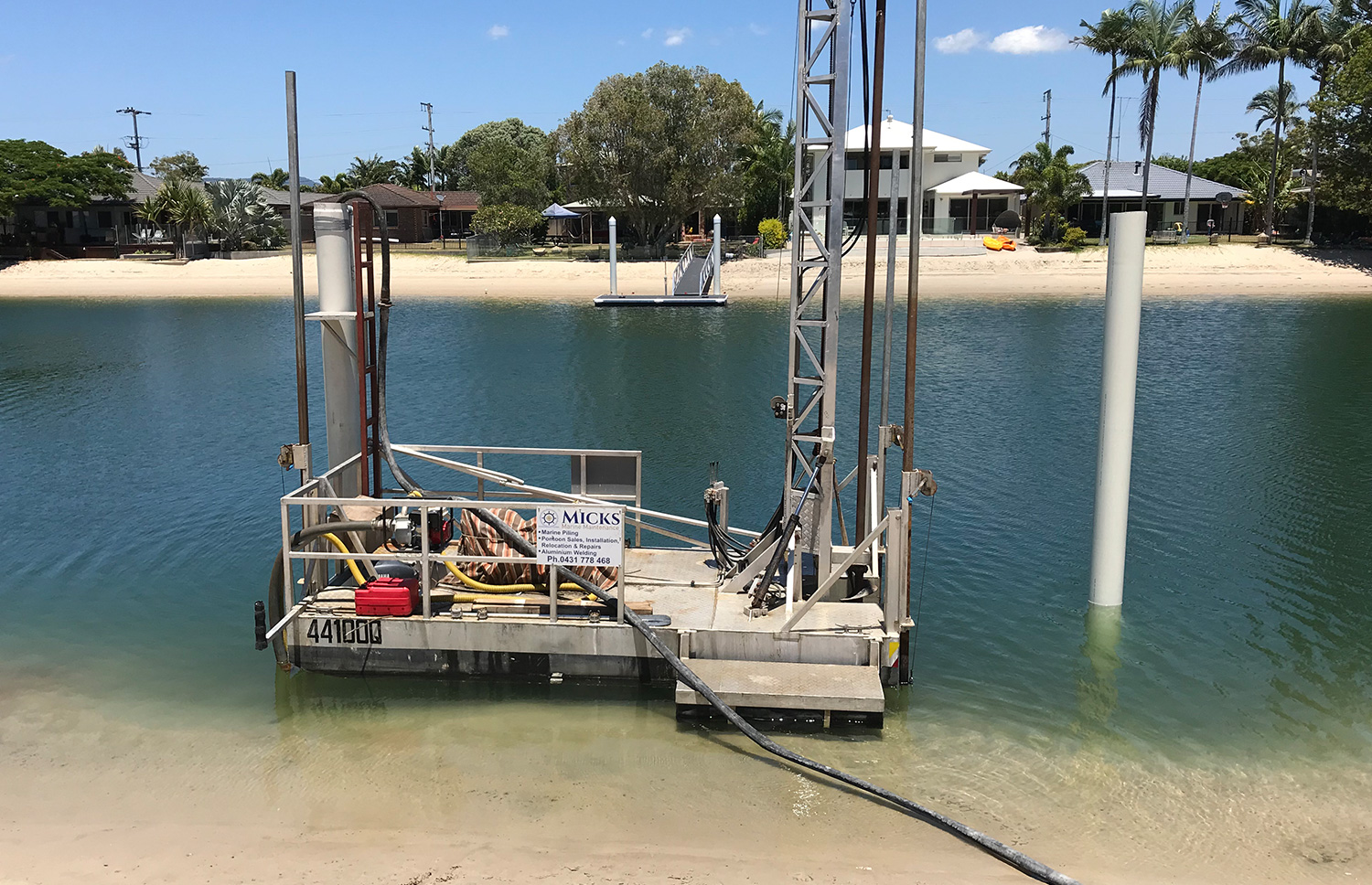 Marine Piling For Floating Pontoons – Everything You Need To Know