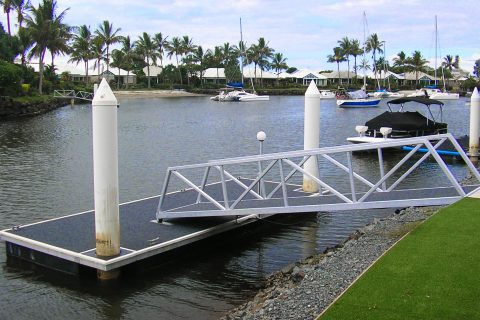 pontoon jetty